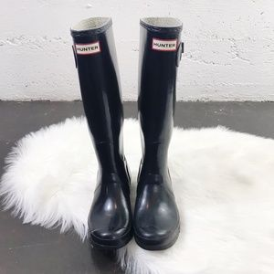 Hunter Boots Original Gloss Tall Rain Boot Wellie